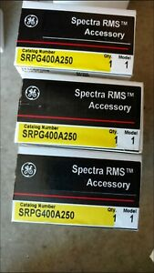 Ge Spectra Srpg400a250 250amp Circuit Breaker Rating Plug Brand New In Box