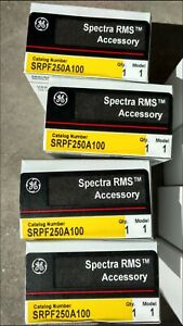 Ge Spectra Srpf250a100 100amp Circuit Breaker Rating Plug Brand New In Box