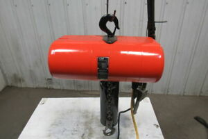 Cm Lodestar Model J 1 2 Ton Electric Chain Hoist 20 3 Travel 32fpm 208 230 460v