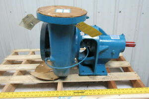 Paco 11501230a6l01 Horizontal End Suction Centrifugal 6x5 Pump 1240 Gpm 90h ft