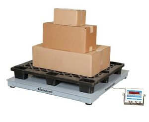 Salter Brecknell Dsb 5000lb Weighing Floor Scale System 48 x48