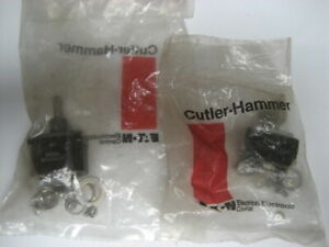 Cutler hammer 8906k1167 Ms24524 27 Toggle Switch New In Original Sealed Bag