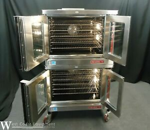 2017 Blodgett Mark V100 Commercial Electric Double Convection Oven 208 230 V