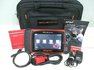 Snapon Solus Ultra Diagnostic Scanner 18 4 Dom Asain euro Software 80 2018