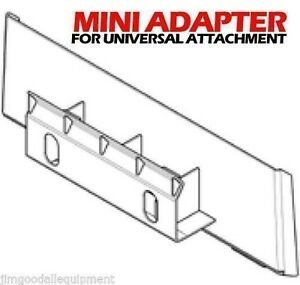 Bobcat Mt50 52 Convert Your Loader To Fit All Universal Mini Attachments