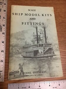 Vintage Scale Ship Model Kits And Fittings Catalog 1972