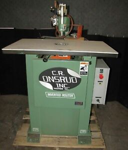 Cr Onsrud Model 3025 Inverted Router 2430