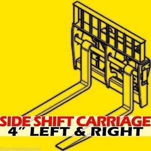 Cat It th 10 000 Lbs 60mm Shaft telehandler Side Shift Carriage 4 Right 4 Left