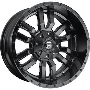 20x10 Matte Black Sledge 6x135 6x5 5 18 Wheels Open Country A t Ii 33 Tires