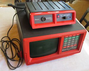 Snap on Counselor Mt1665 Digital Oscilloscope With Mt1658 Ignition Interface