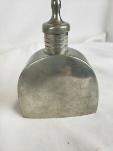 Superb Antique Rare Chinese Pewter Wine Flask Ca 1920s Marked