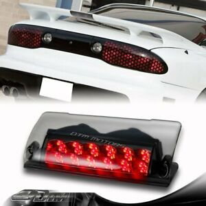 Smoke Lens Led Third 3rd Brake Tail Stop Light For 1998 2002 Pontiac Firebird