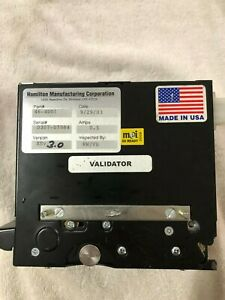 Hamilton Xe Bill Validator For A Coin Changer Works Pulled From Working Environm