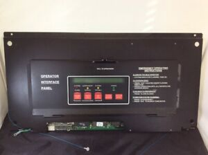Simplex 4020 8001 Annunciator Fire Alarm Display Panel 841 842 Rs232 565 224