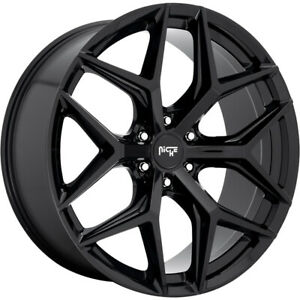 22x9 5 Black Niche Vice Suv m231 Wheels 6x135 30 Fits Ford Expedition