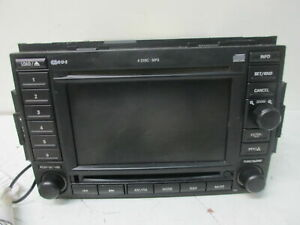 2006 06 Chrysler 300 Rec Dvd Navigation Radio P N 05064184ac Oem Lkq