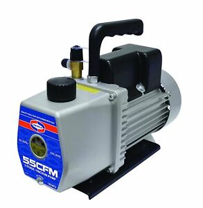 Uniweld U5vp2 5 5 Cfm Two Stage Vacuum Pump