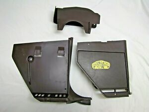 1978 1988 Monte Carlo El Camino G Body Used Rh Front Lower Kick Panels Maroon
