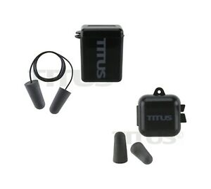 Titus 32db Nrr Individually wrapped Pairs Of Soft Memory Foam Earplugs