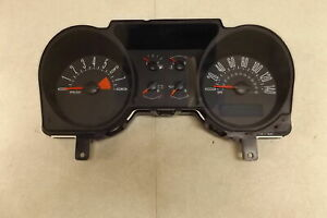 2006 Ford Mustang Speedometer Head Cluster Id 6r33 10849 Gd Oem Lkq