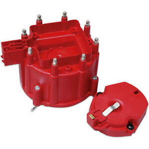 Msd 8416 Distributor Cap And Rotor Gm Hei Dist Red