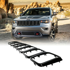 7pc Grill Rings Grille Grill Inserts Fit For 2017 2018 2019 Jeep Grand Cherokee