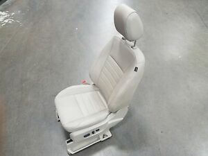 2014 Ford Escape Driver Front Lh Tan Leather Power Adjustable Seat Oem Lkq