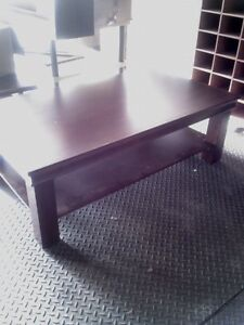 Tier Display Tables Cherry Wood Upscale Clothing Store Fixtures Furniture Retail