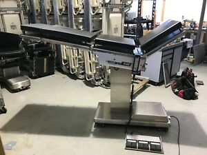 Skytron 3500 C arm Slide Table W Hand Control And Footswitch
