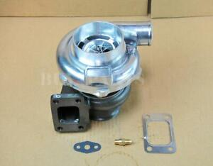 Gt30 Gtx3076r Billet Wheel Dual Ball Bearing Turbo T3 4 Bolt V band Turbocharger