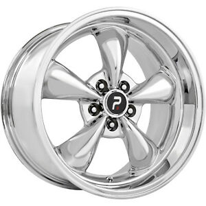 17x8 Chrome Oe Performance 106 mustang Bullet Replica Wheels 5x4 5 0 Ford