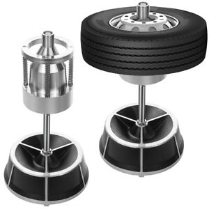 Portable Wheel Balancer Bullseye Bubble Level Tire Hub Rim Home Diy Car Trucks