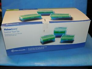 02 707 410 Fisherbrand Sureone Non filter Tips Hinged Racks 5 300ul Qty 960
