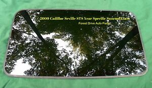 2000 Cadillac Seville Year Specific Oem Factory Sunroof Glass Free Shipping