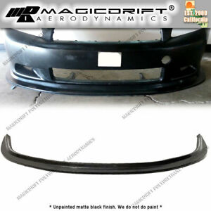 For 05 10 Scion Tc Mda Style Front Bumper Lip Chin Spoiler Splitter Jdm Urethane