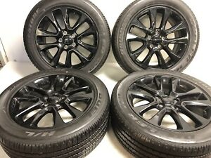 20 Oem Jeep Grand Cherokee 9168 Wheels And Tires Package Deal
