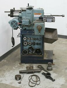 Winona Van Norman Disc And Drum Brake Lathe W Tooling Adapters