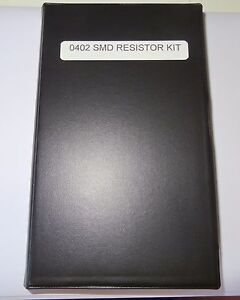 Smd 0402 1 Resistor Assortment Kit 240 Values 40 Per Total 9600 Pcs