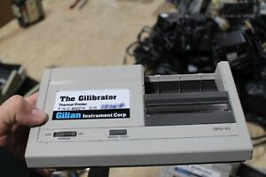 Lot Of 9 Gilian Instrument Corp The Gilibrator Thermal Printer Dpu 40