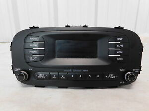 14 16 Kia Soul Am Fm Satellite Ready Radio Oem