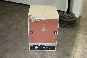 Thelco Lab Furnace Model 29 18 dx13 wx13 t 120v Working