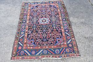 Antique Oriental Rug Malayer Hamadan 3 7x5