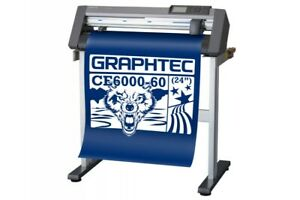 Graphtec Ce6000 60 Plus Vinyl Cutter Plotter free Stand Free Shipping