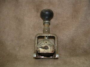 Old Antique Bates Consecutive Duplicate Repeat Automatic Numbering Machine Stamp