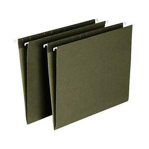 Green Hanging Folders Legal Size X 24 Mixed Brands Pre owned Great Condition