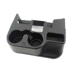 Car Auto P10180 Black Storage Console Drink Cup Holder Fit For 03 12 Dodge Ram