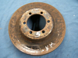 Mopar 3 Groove Crankshaft Pulley Non Symmetrical Bolt Pattern 3 X 7 3 8