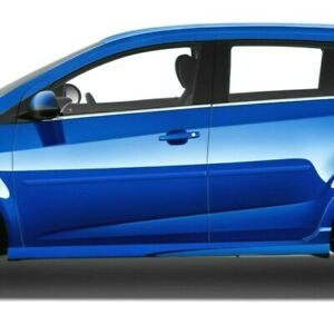 Painted Body Side Moldings Trim Mouldings For Chevrolet Sonic 2012 2021