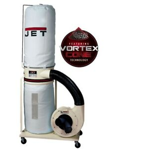 Jet 710703k Dc 1200vx bk3 Dust Collector 2hp 3ph 230 460v 30 micron Bag Filter