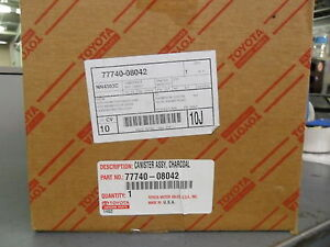 Toyota Charcoal Vapor Canister New Oem 77740 08042 Sienna 2002 2003 Save